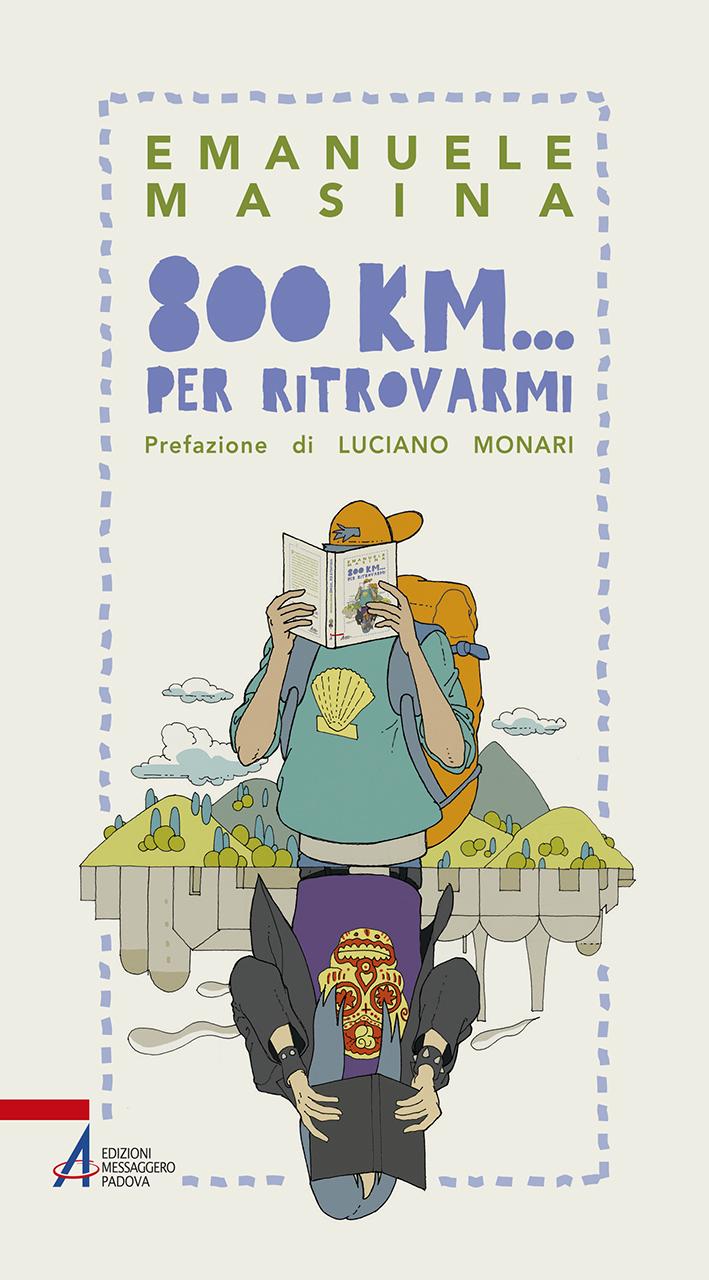 """Copertina del libro: """"800 chilometri… per ritrovarmi"""""""